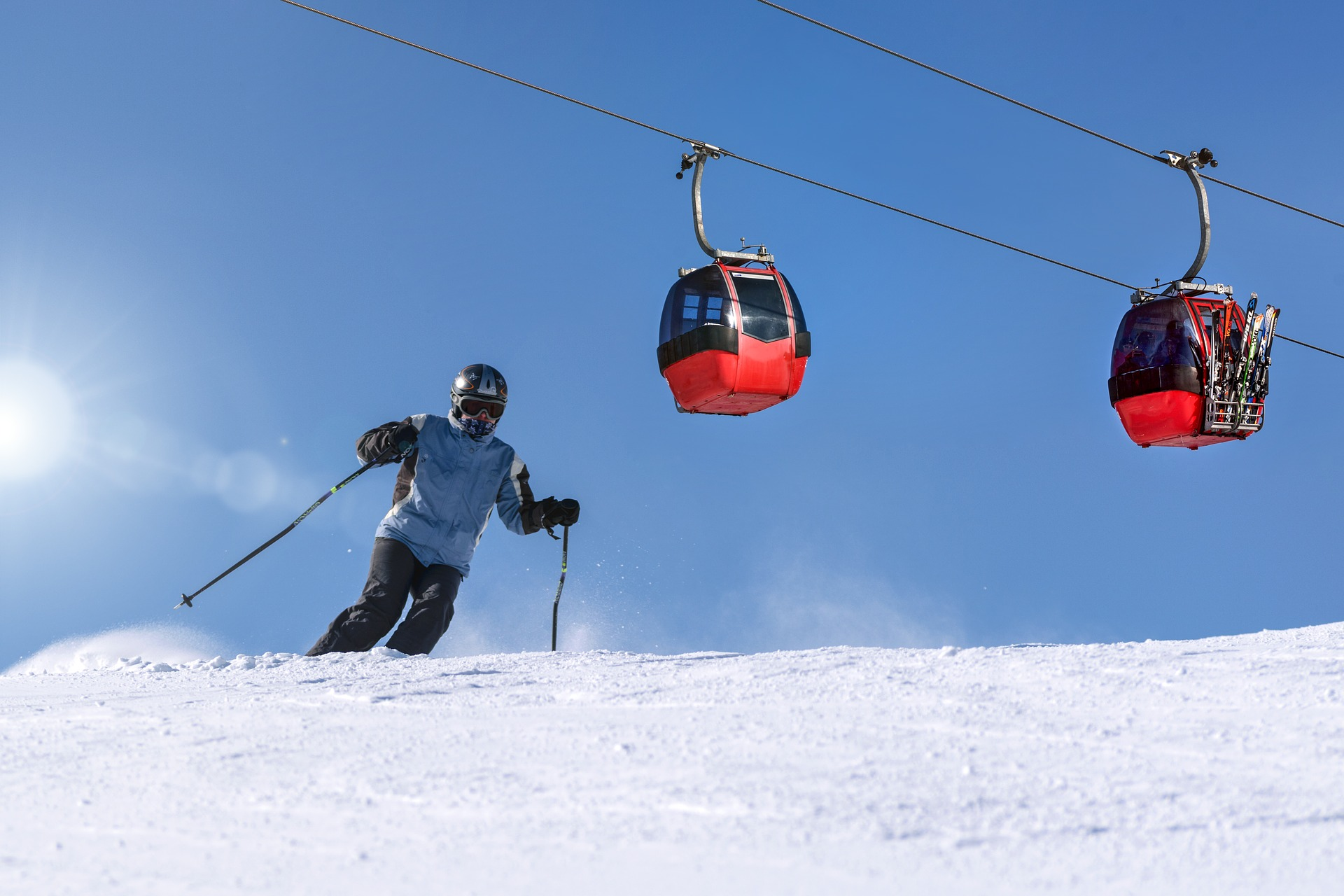 For skiers